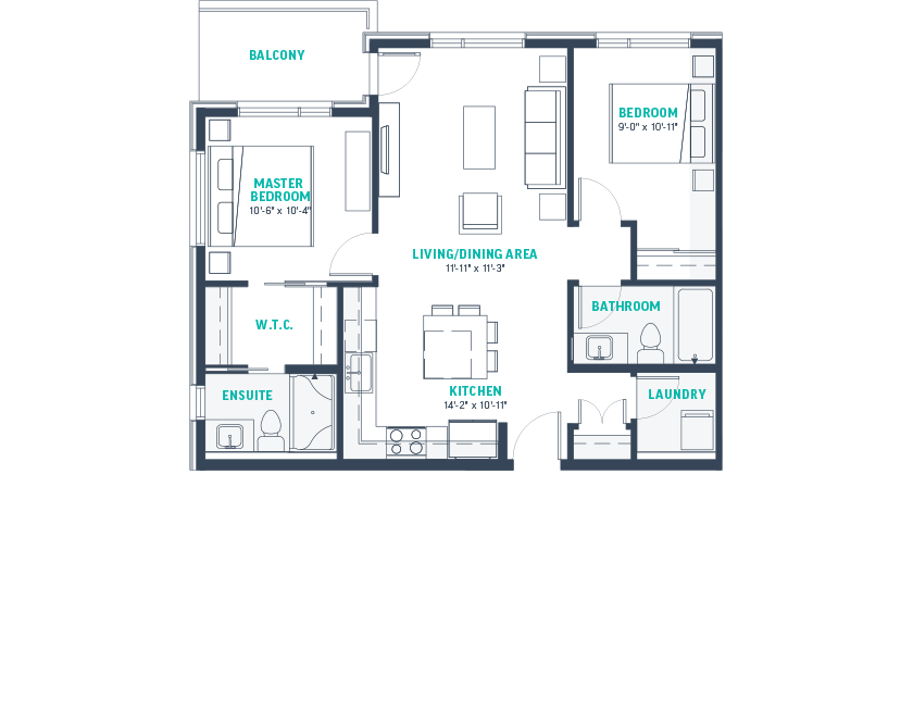 Plan E1-Rev Floorplan