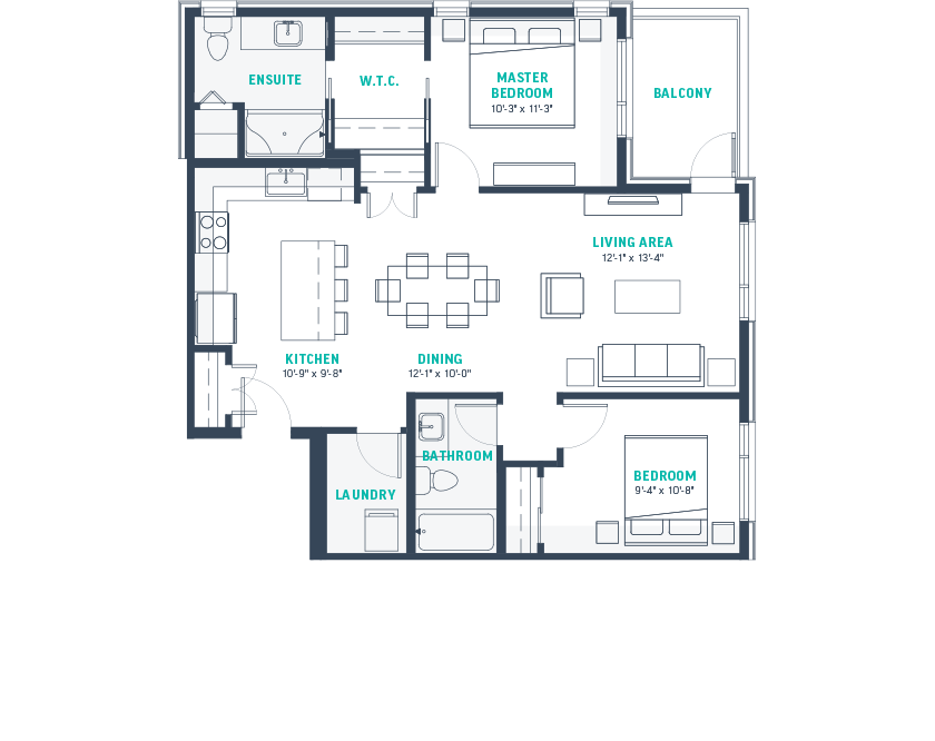 Plan F  Floorplan