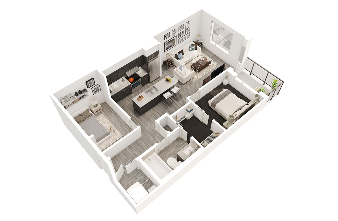 Dollhouse rendering