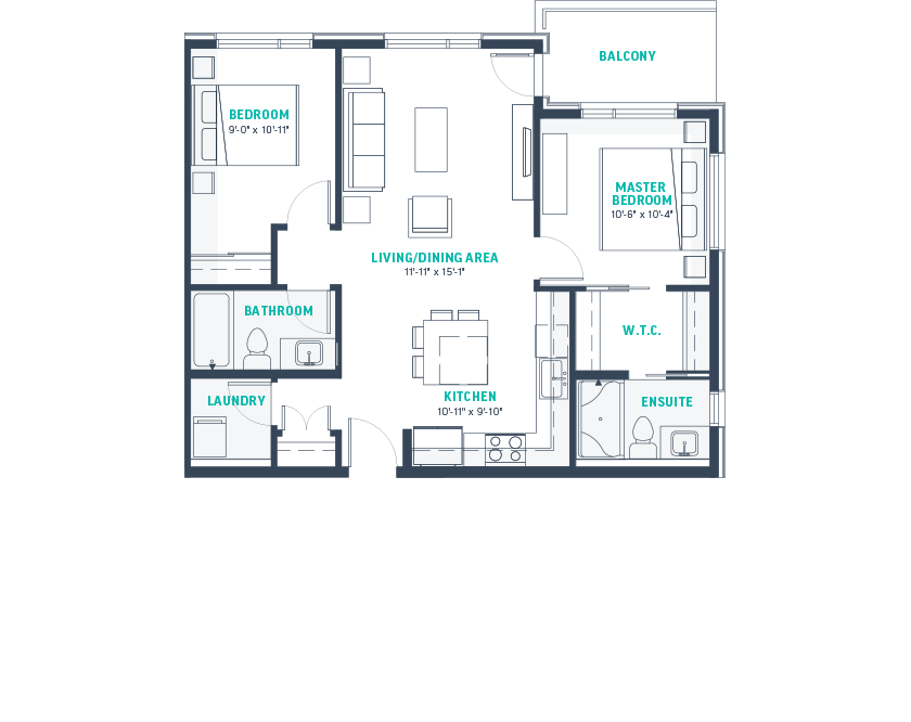 Plan E1 Floorplan