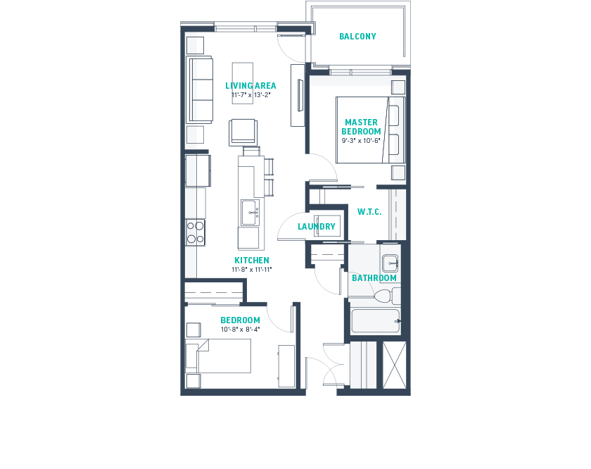 Plan C1 Floorplan
