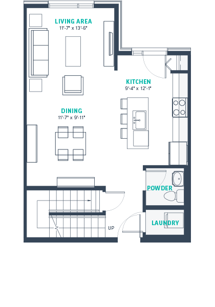 Plan TH2A  Floorplan