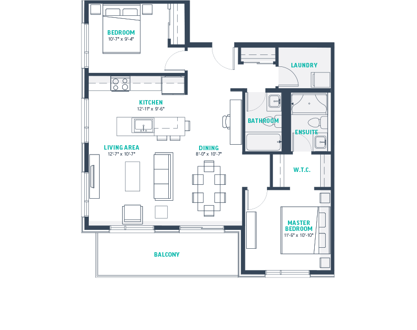 Plan I2 Floorplan