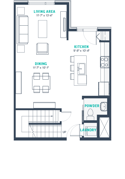Plan TH4 Floorplan