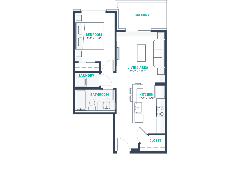 Plan A1 Floorplan