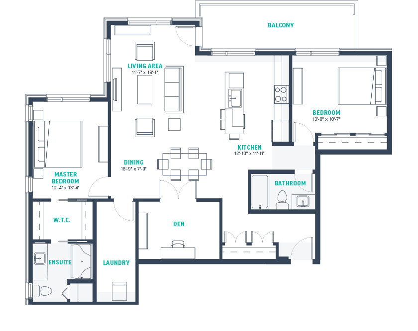 Plan H Floorplan
