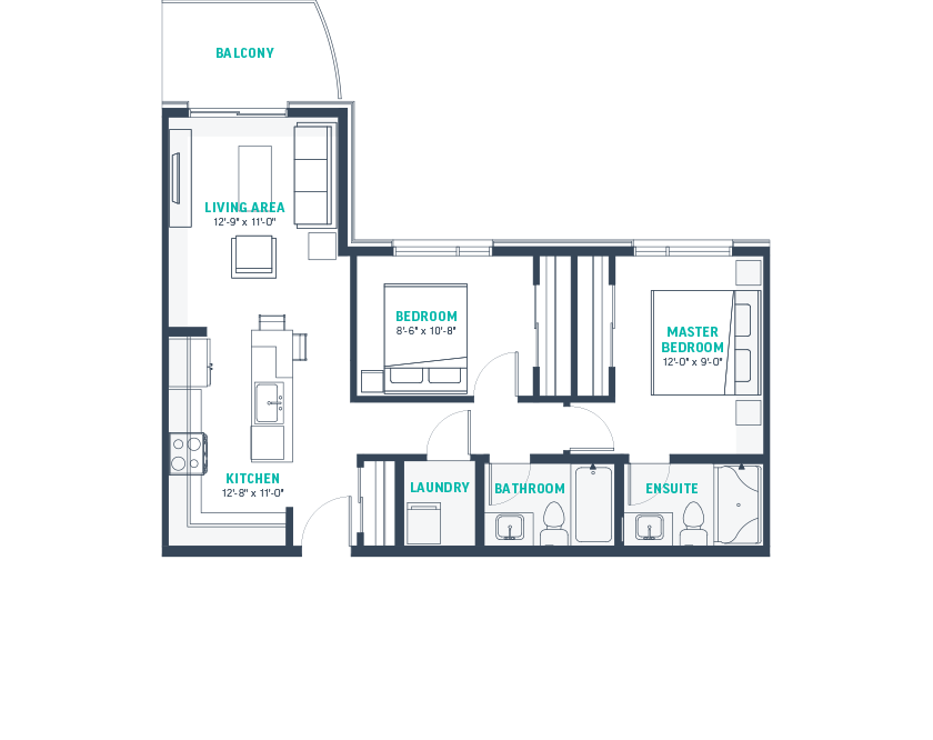Plan J  Floorplan