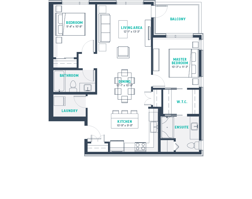 Plan F2 Floorplan