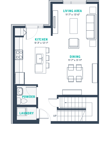 Plan TH1 Floorplan