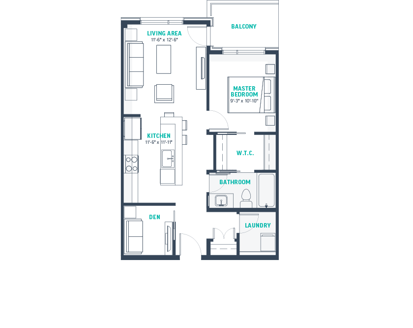 Plan B-Rev Floorplan