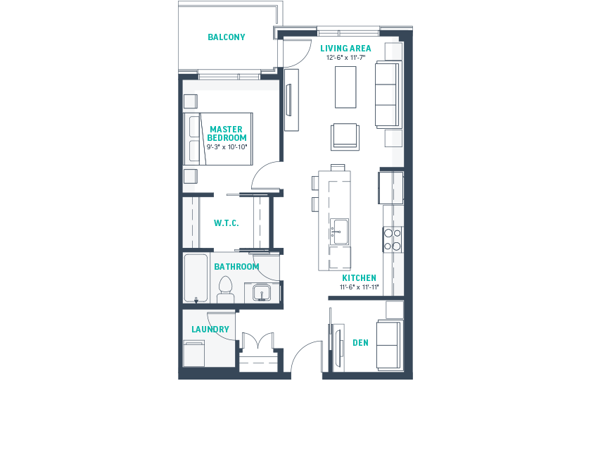 Plan B Floorplan