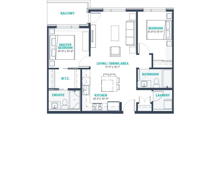 Plan E Floorplan