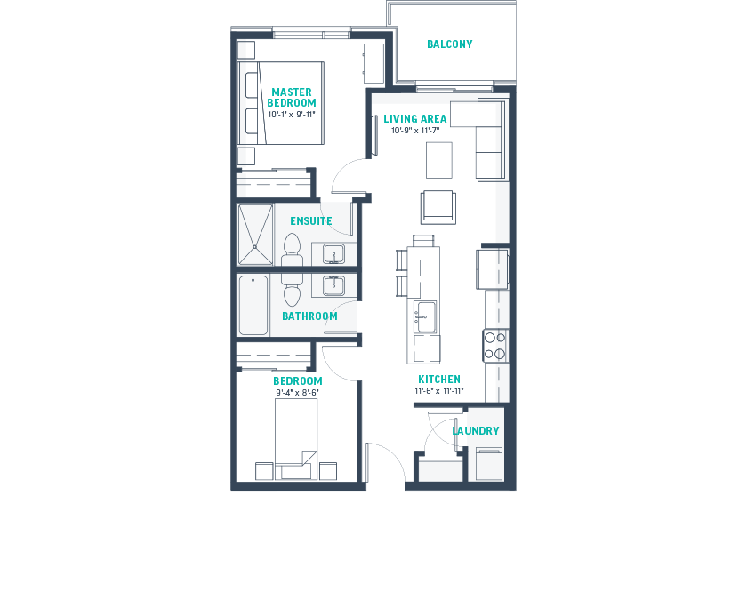 Plan C-Rev Floorplan