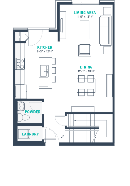 Plan TH2-Rev Floorplan