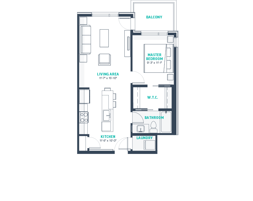 Plan A2 Floorplan