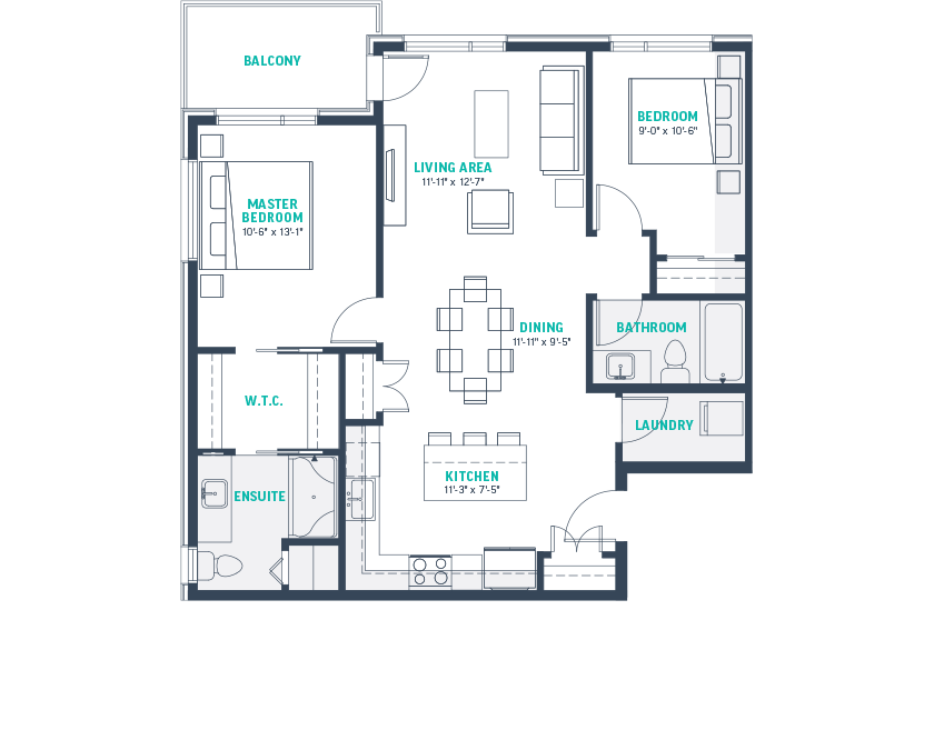 Plan F3-Rev Floorplan